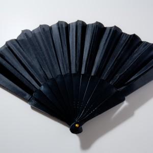 Fächer schwarz