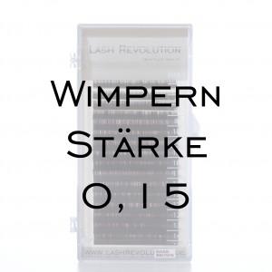 Wimpern 0,15 1